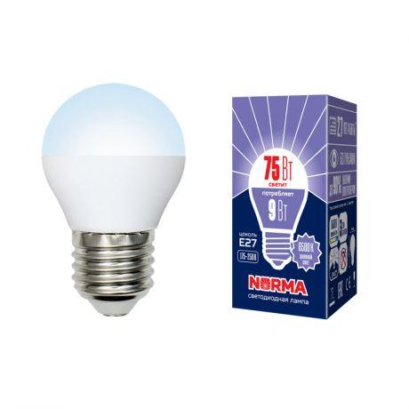 Светодиодная лампа NORMA LED-G45-9W/DW/E27/FR/NR