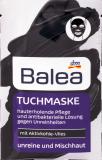 Маска для лица Tuchmaske с активированным углем