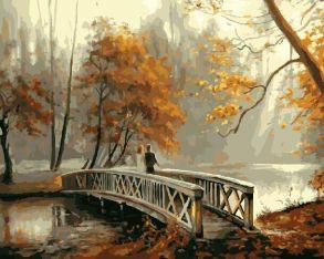 Картина по номерам «На мосту» 40x50 см