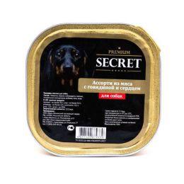 SECRET Premium Ассорти из мяса с говядиной и сердцем