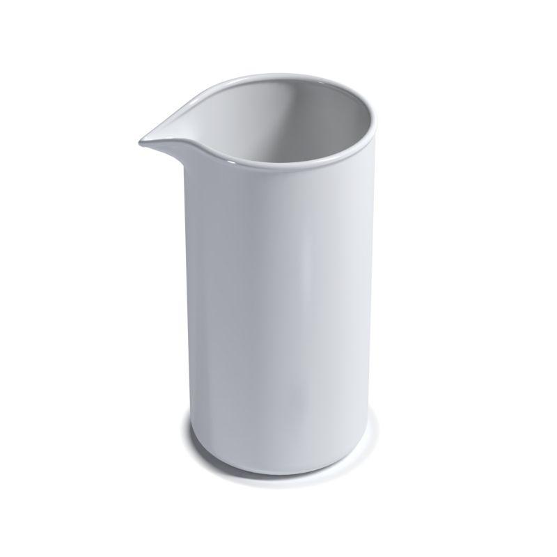 Фарфоровый химический стакан №4, 60/110мм ( 250мл)