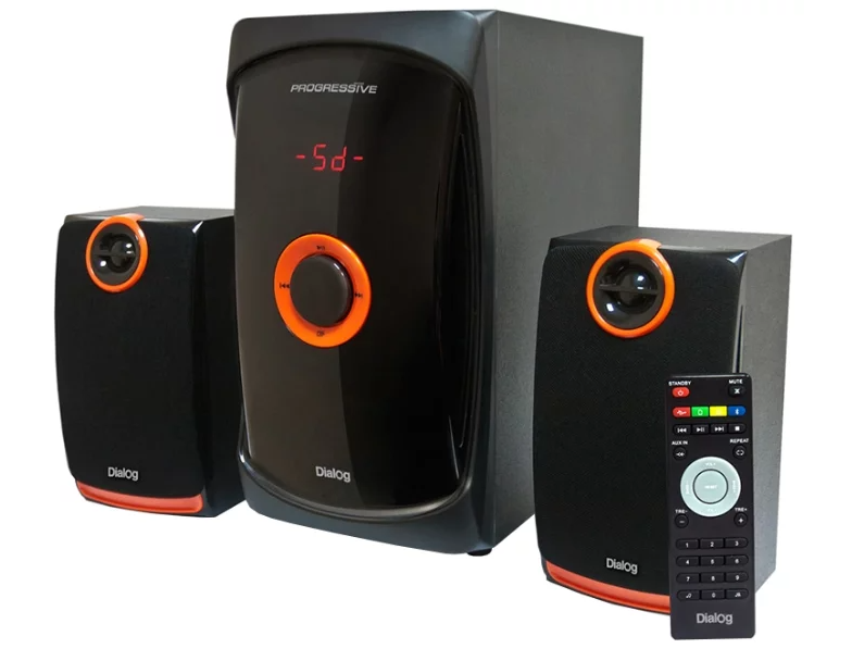 Компьютерная акустика DIALOG AP-200 Черная