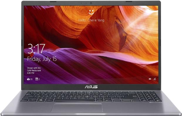 "Ноутбук ASUS M509DA-EJ345T (AMD Ryzen 3 3250U 2600MHz/15.6""/1920x1080/4GB/256GB SSD/DVD нет/AMD Radeon Vega 3/Windows 10 Home) (90NB0P52-M08270) Grey"