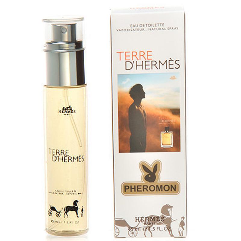 Мини-парфюм с феромонами Hermes Terre D Hermes 45 ml