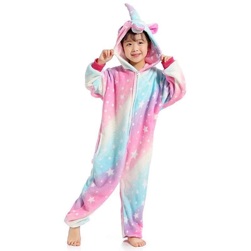 Детская Пижама Кигуруми Единорог Космический