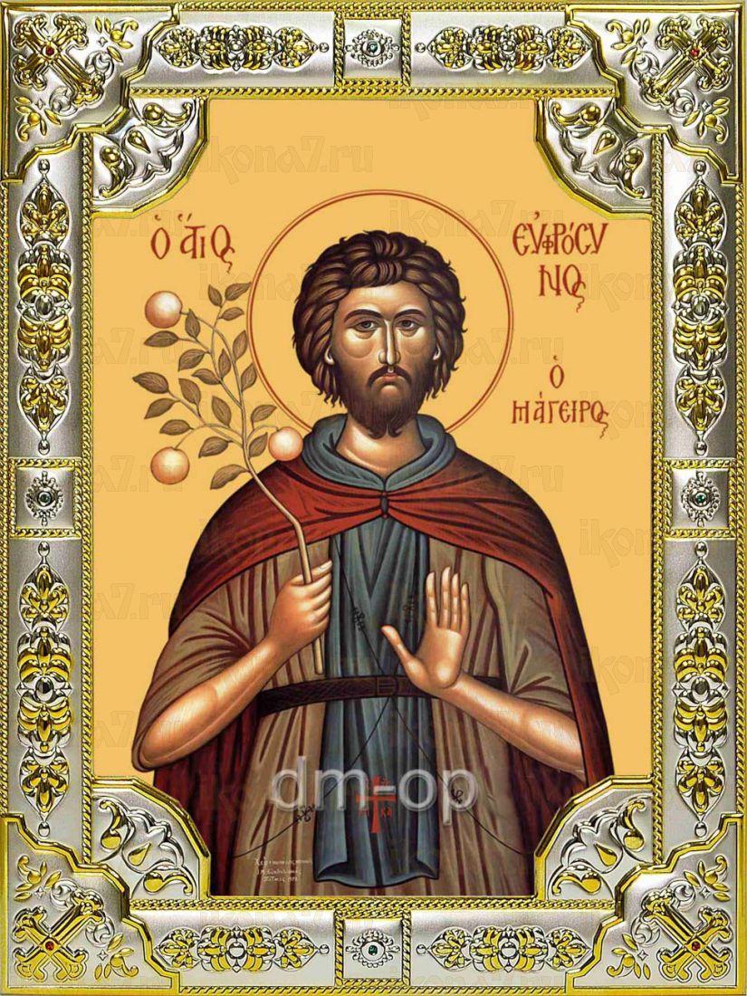 Икона Евфросин Палестинский преподобный (18х24)