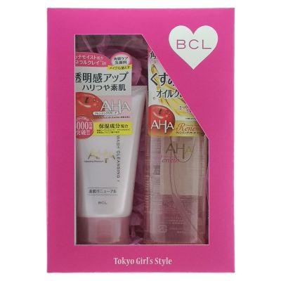 """083791 Подарочный набор """"Двойное очищение"""":очищ. и увл, масло для снятия макияжа+пена-скраб для лица"""
