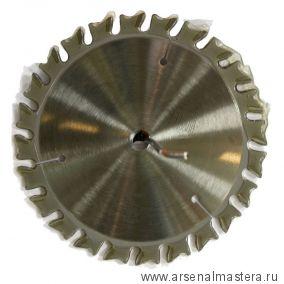 Пила DADO регулируемый паз 6,35-21 D202 x 15,87 Z24/24 два ведущих и 4 сегмента Z2 Dimar 90051901