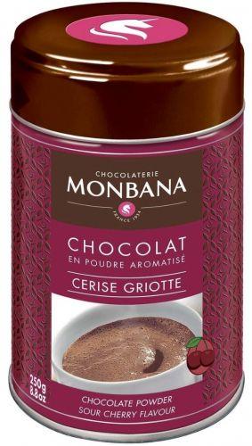 Горячий шоколад Monbana, какао с ароматом вишни