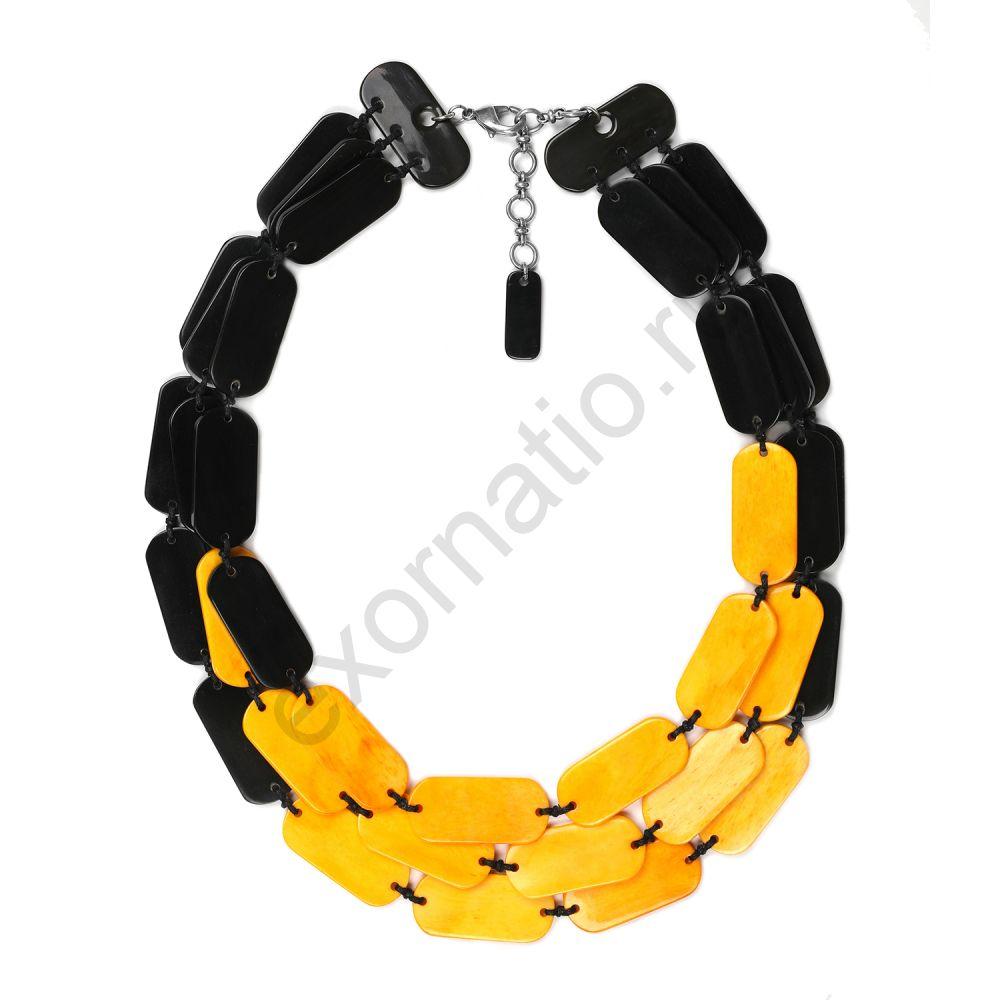 Колье Nature Bijoux 15-40990. Коллекция Black Mango