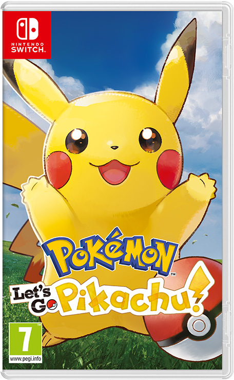 Игра Pokemon: Let's Go Pikachu! (Nintendo Switch)