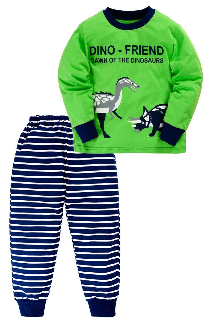 Пижама для мальчика Динозавры