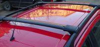 Багажник FicoPro R-46 черный на рейлинги, ВЫСТАВОЧНЫЙ ЭКЗЕМПЛЯР