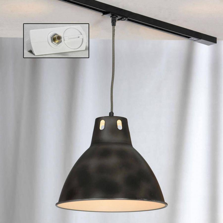 Трековый светильник однофазный Lussole LOFT Track Lights LSP-9504-TAW