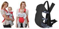 Рюкзак-слинг для переноски ребенка Baby Carriers 3-12 месяцев, чёрный