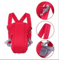 Рюкзак-слинг для переноски ребенка Baby Carriers 3-12 месяцев, красный