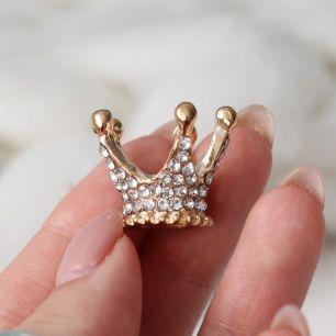 Кукольный аксессуар Корона золотая