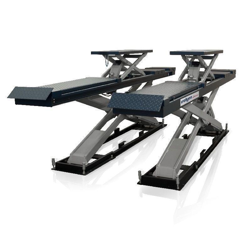 Velyen 4EE0600H Подъемник ножничный г/п 5000 кг., платформы для сход-развала с подъем. второго уровня