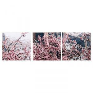 """Модульная картина """"Весенний Париж"""" (3-35х35) 35х105 см 4983642"""