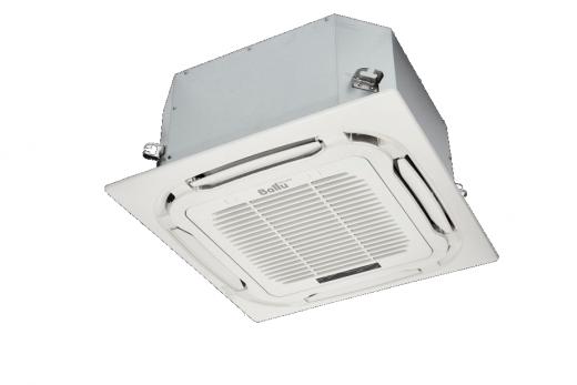 Комплект Ballu Machine BLC_C-12HN1_19Y (compact) полупромышленной сплит-системы, кассетного типа
