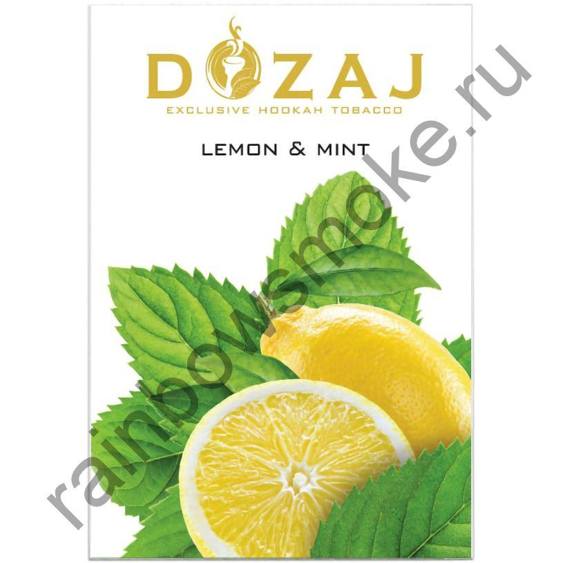Dozaj 50 гр - Lemon & Mint (Лимон с Мятой)