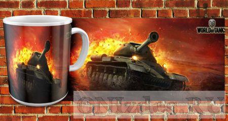 Кружка Танки World of Tanks (Т-34)