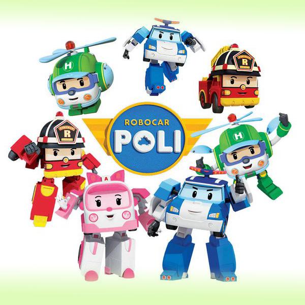 Игрушка - трансформер от Robocar Poli