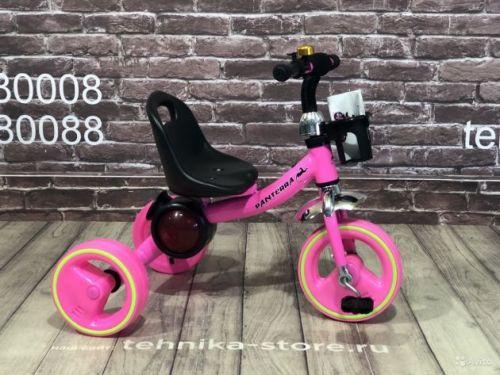 Велосипед Детский трёхколёсный Pantera с Музыкой и подсветкой