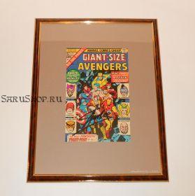Автограф: Стэн Ли. На комиксе Мстители 1975 года. Редкость