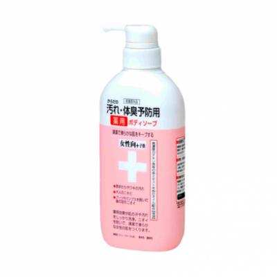 Clover Комплекс+ Жидкое мыло комплексного действия для женщин 450мл