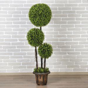 """Дерево искусственное """"Три шара"""" мелкий лист 150 см   3530330"""