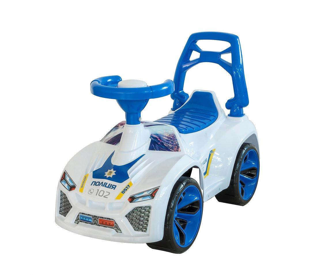 Машина-каталка Ламбо Полиция, муз.руль