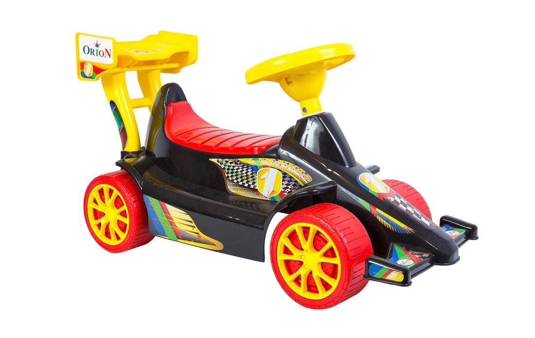 Машина-каталка Супер Спорт, черная