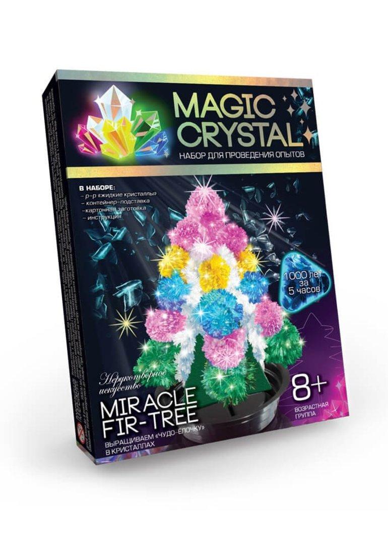 Набор для опытов Мagic Crystal, Волшебная ель