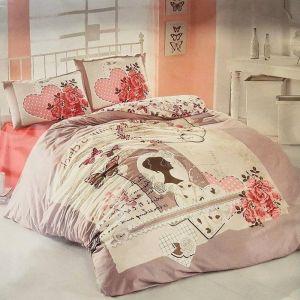 """Постельное бельё """"Irina Home"""" ранфорс Sura размер 1.5"""