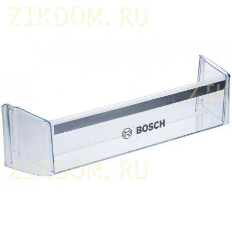 11002391 Полка-балкон нижний для встроенного холодильника Bosch