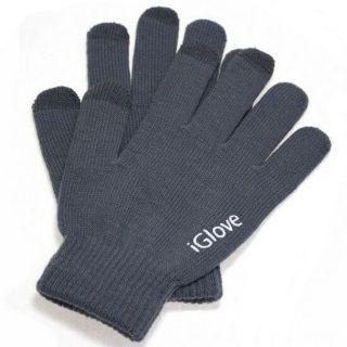 Перчатки iGlove для работы с емкостными экранами, Серый