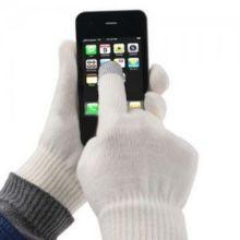 Перчатки для сенсорных экранов, Белый