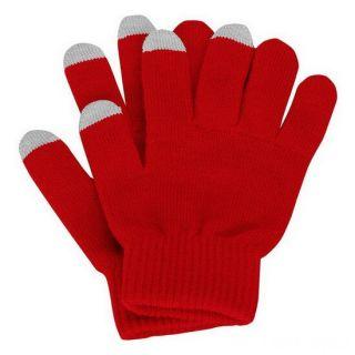 Перчатки для сенсорных экранов, Красный
