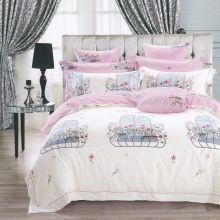 Комплект постельного белья Сатин  KARNA 1,5-спальный детский Арт.467/20