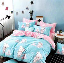 Комплект постельного белья Сатин  KARNA 1,5-спальный детский Арт.467/21