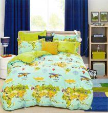 Комплект постельного белья Сатин  KARNA 1,5-спальный детский Арт.467/34
