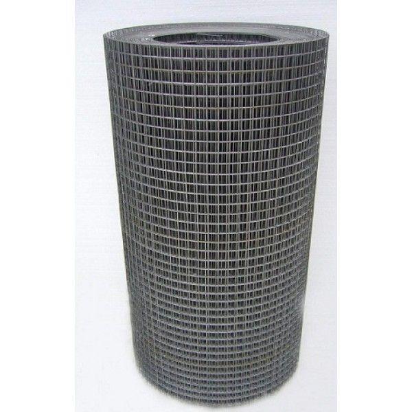 Сетка сварная черная 25х25х1.6 мм, рулон 1х40 м