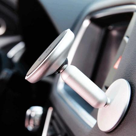 Автомобильный держатель Baseus Bullet An on-board Magnetic Bracket Белый