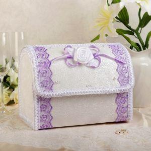 Коробка для денег «Альт», сиреневая, разборная 3041951