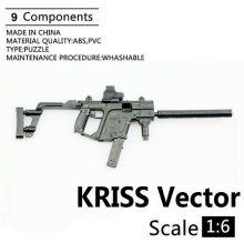 Сувенирная сборная модель Крисс Вектор - пистолет-пулемет 1:6