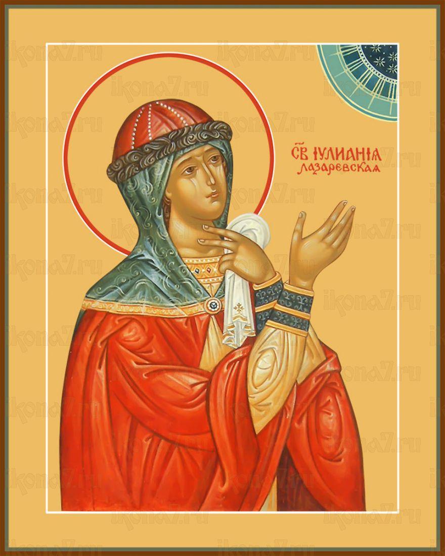 Икона Иулиания Лазаревская праведная