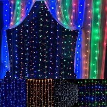 Светодиодная гирлянда Шторка 320 LED, 3х2 м
