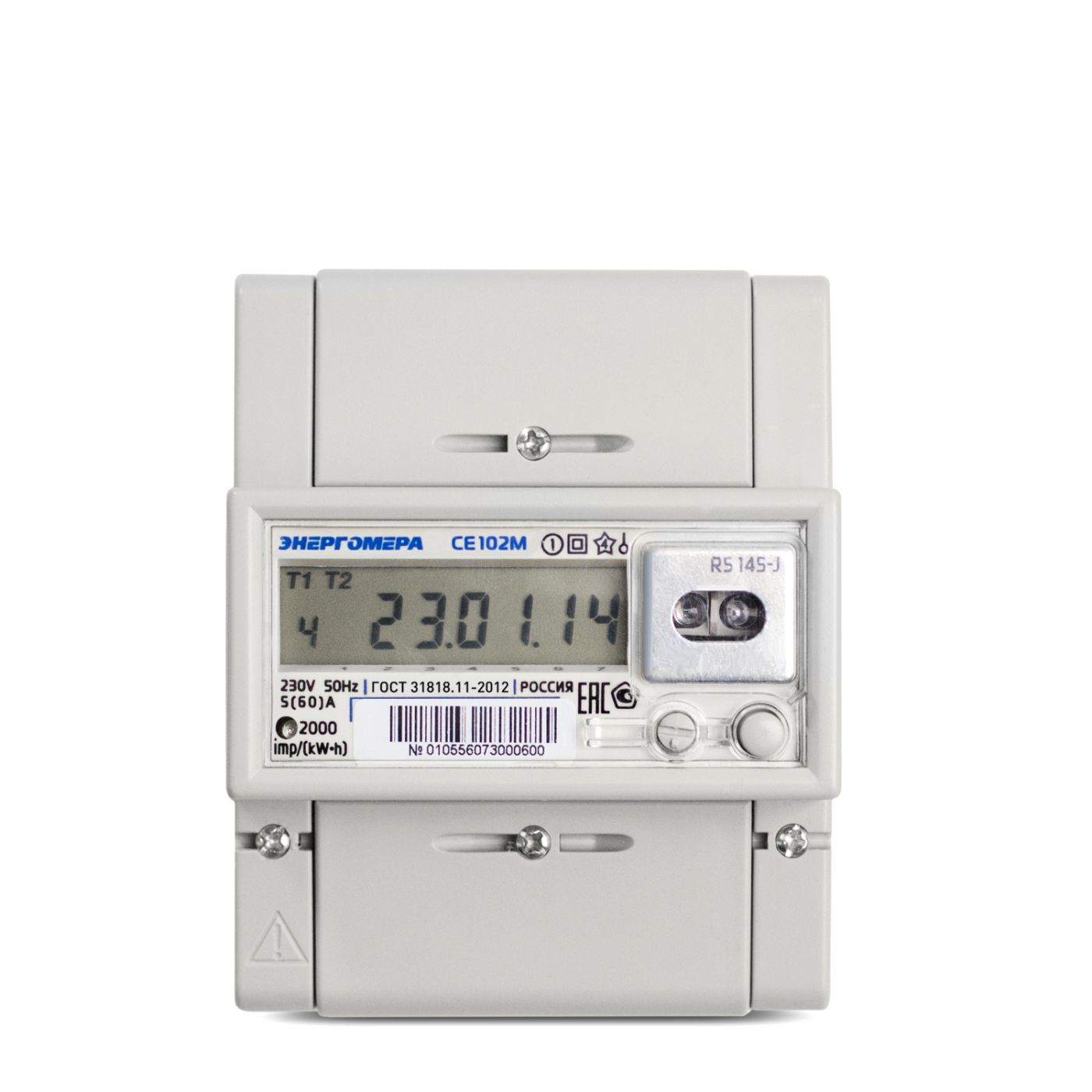 Счетчик электроэнергии однофазный многотарифный CE102M-R5 -A