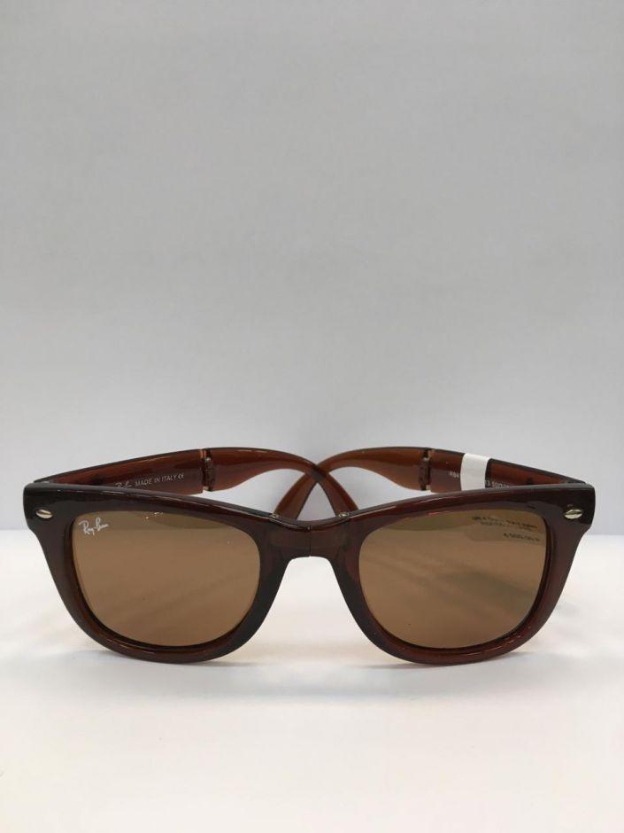 Складные солнцезащитные очки в футляре  RB4105